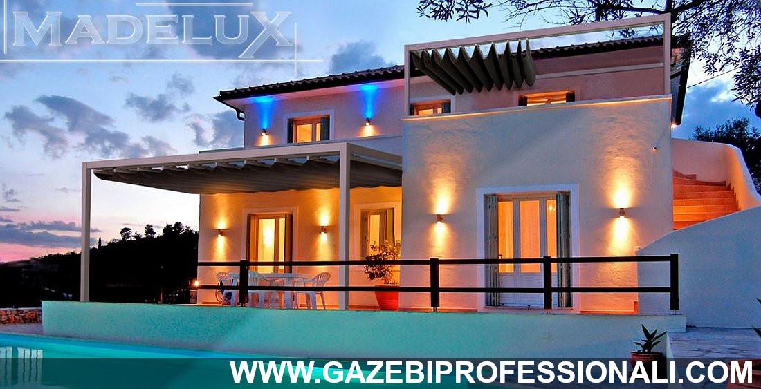 gazebo professionale gold certificato