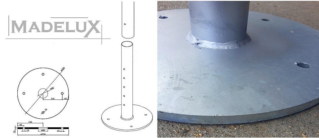 sistema scarico acqua coperture gold