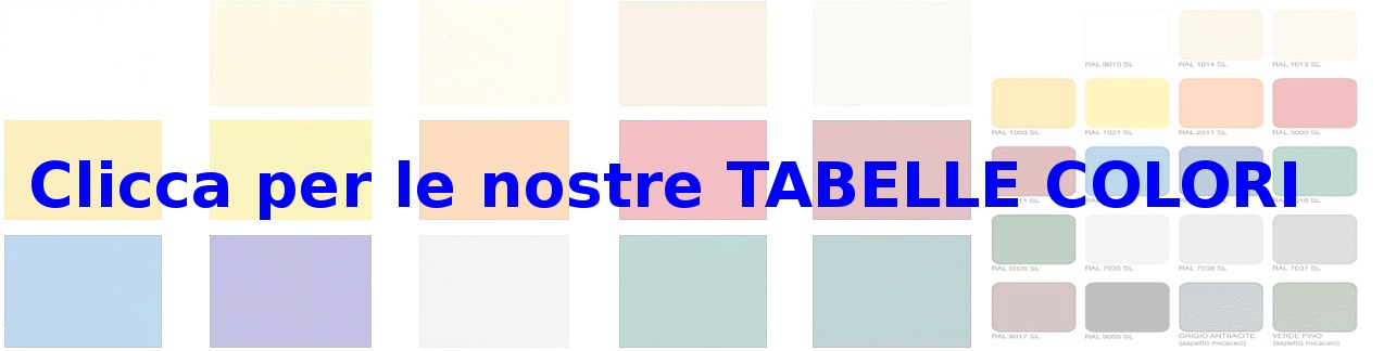 tabelle colori madelux