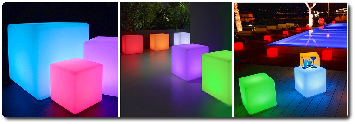 sfera luminosa led arredo madelux