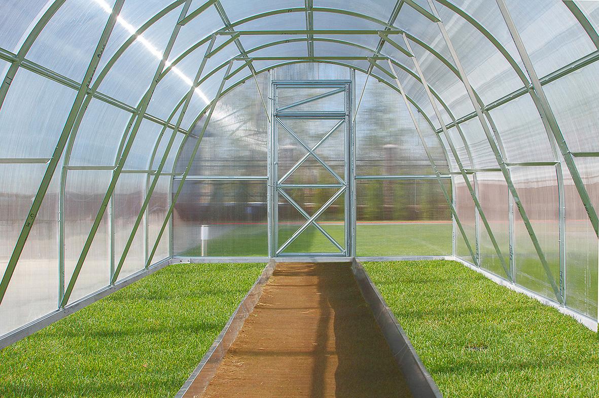 serra professionale tunnel policarbonato