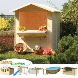 casetta in legno chiosco