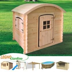 casetta in legno principessa
