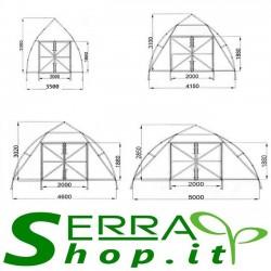Serra professionale Tunnel