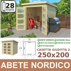 Casetta GIUDITTA 250x200