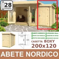 casetta in legno Boxy 200x120