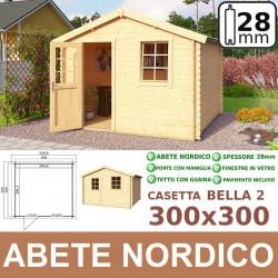 casetta in legno Bella 300x300