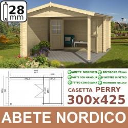 casetta in legno Perry 300x425