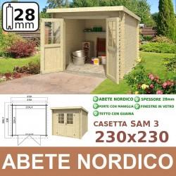 casetta in legno Sam 3 230x230
