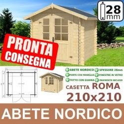 210x210 Casetta Roma