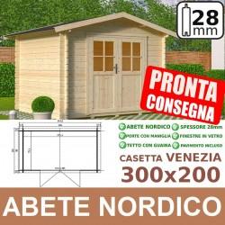casetta in legno VENEZIA