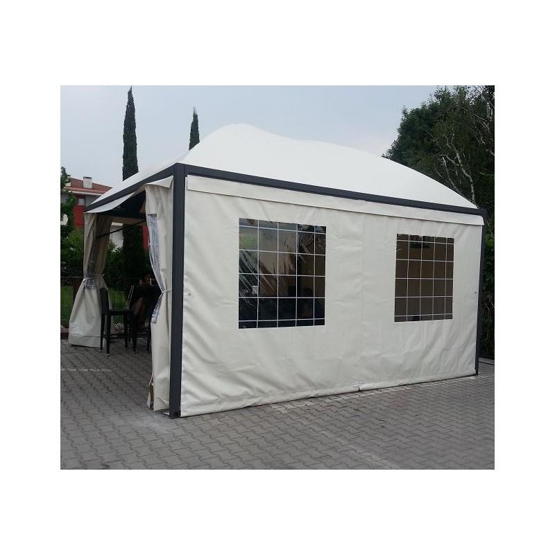 Telo laterale gazebo pagoda tenda pavillon professionale for Teli pvc per laghetti