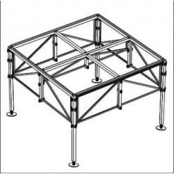 Palco modulare