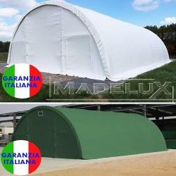 Agritunnel 10x9m PVC 720g PASSO 2m