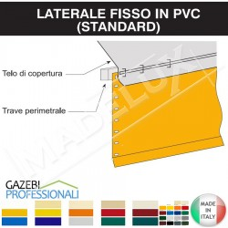 Telo Laterale Gazebo Fisso PLUS