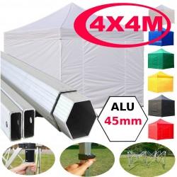 Gazebo Pieghevole 3x3 4,5x3 6x3 m alluminio
