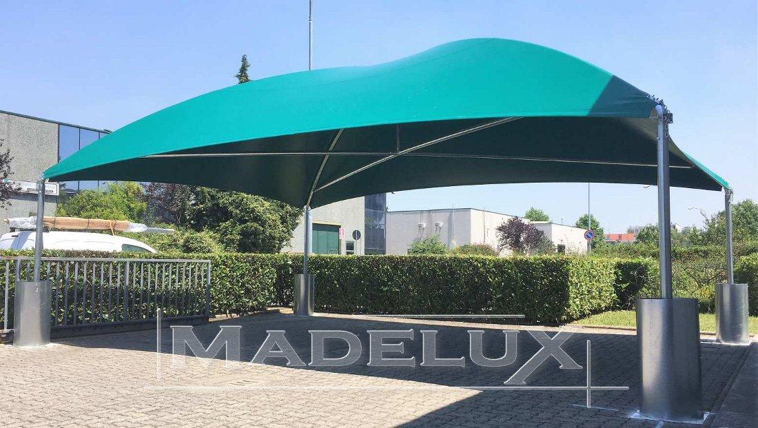 carport autohauses 8x6m pvc 650g pagodenzelt barzelt zeltgaragen madelux neu ebay. Black Bedroom Furniture Sets. Home Design Ideas