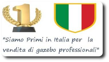 primi in italia per la vendita di gazebo e coperture professionali